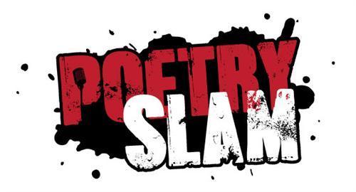 Poetry slam graphic art