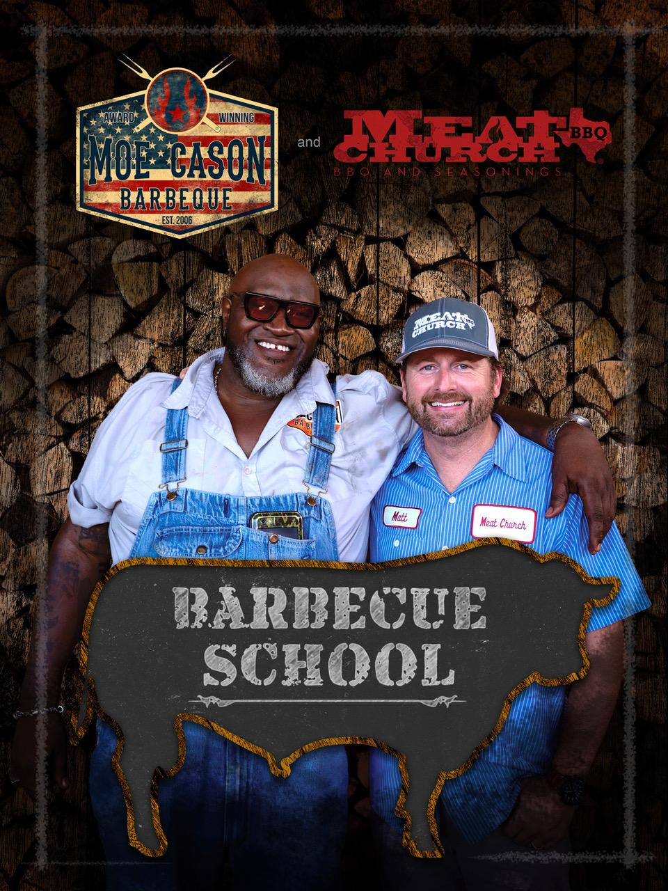 Moe Cason And Meat Church Barbecue School