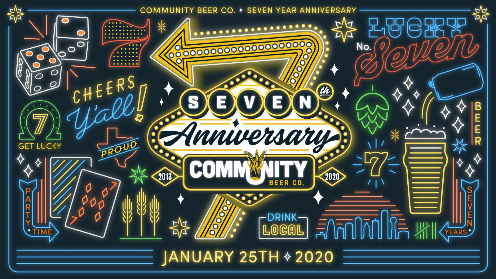 Community Beer Company 7 Year Anniversary @ Community Beer Company