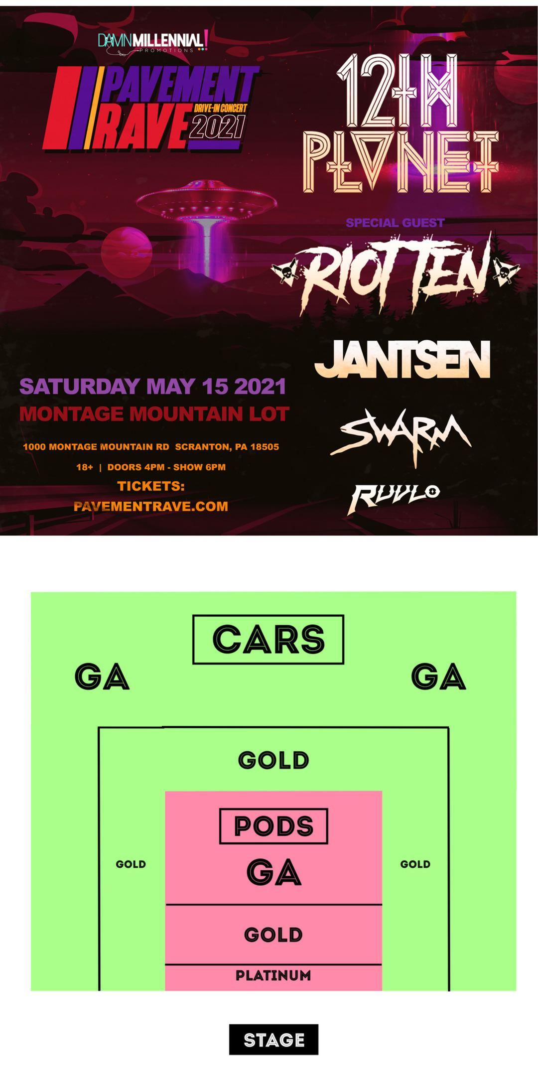 Event flyer graphic