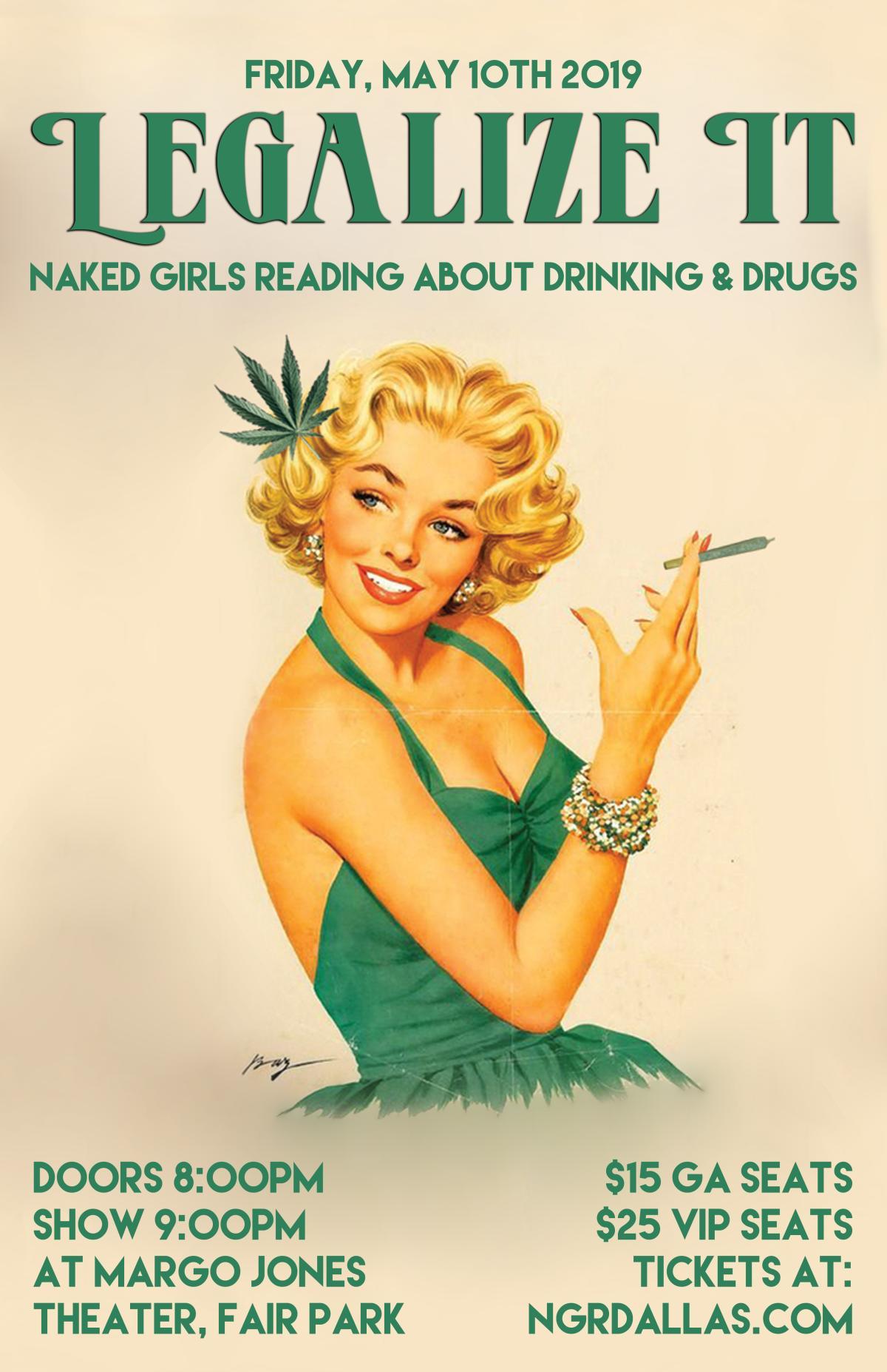 Naked Girls Reading Legalize It