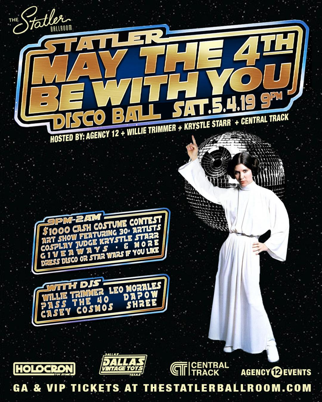 May The 4th Be With You 2019 Modesto: May The 4th Be With You Disco Ball