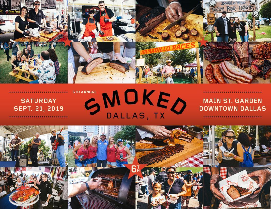 Smoked Dallas Main Street Garden Dallas Tx Prekindle Tickets